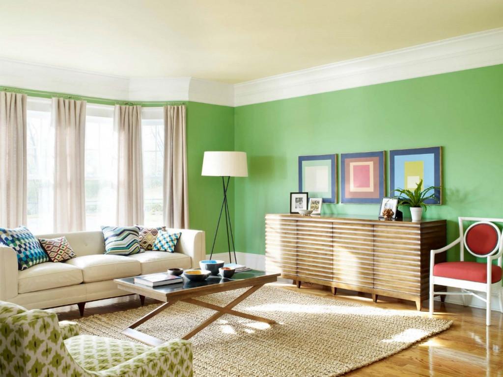 Việc bạn dùng gam màu tối cho toàn bộ căn nhà sẽ gây cảm giác bức bối, chật chội cho không gian sống của bạn. Bạn chỉ nên sử dụng gam màu tối cho những mảng tường nhỏ dùng làm điểm nhấn và bạn nên chọn một gam màu tươi sáng làm tông chủ đạo cho toàn bộ căn nhà.