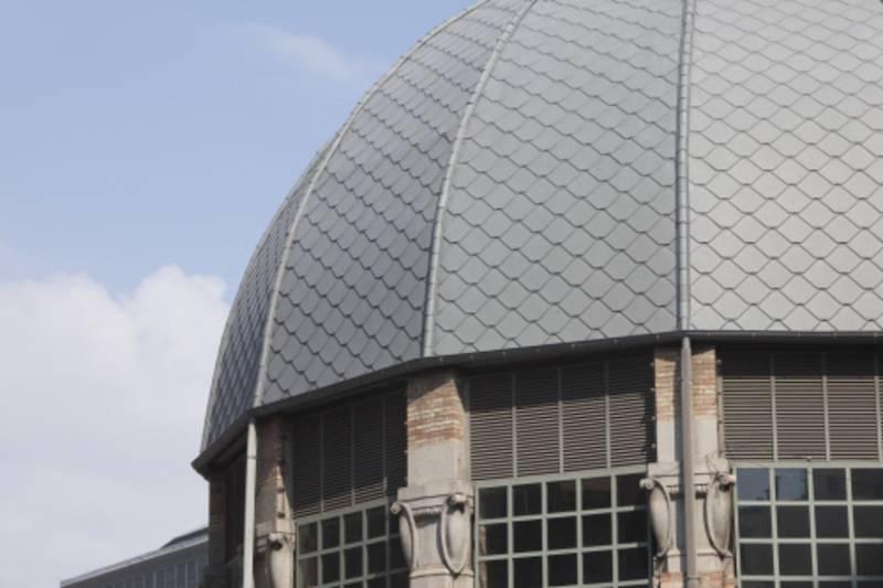 Kết cấu vững chắc nhưng đầy sáng tạo của mái nhà lợp kẽm Adeka
