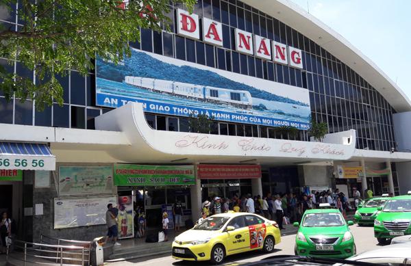 Ga Đà Nẵng hiện tại nằm ở trung tâm TP thuộc quận Thanh Khê, TP Đà Nẵng