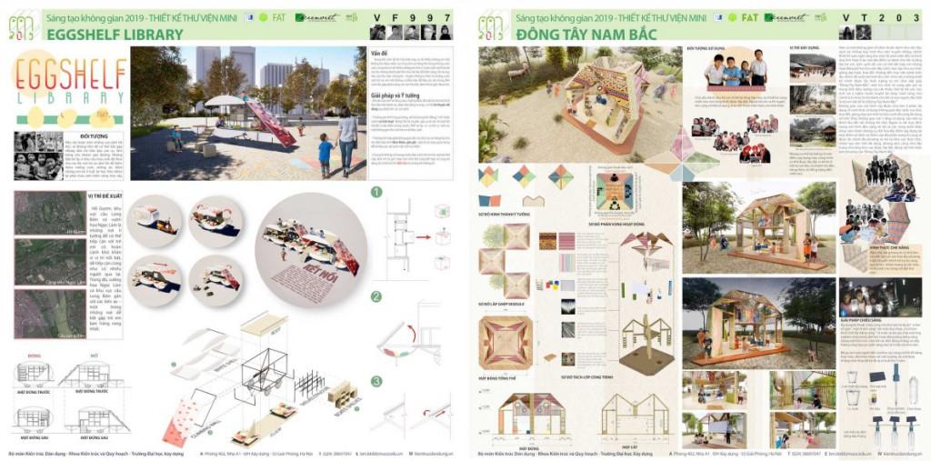 """Giải mở rộng INROS LACKNER cuộc thi """"Thiết kế Thư viện Mini 2019: Linh hoạt – Thân thiện – Di động"""""""