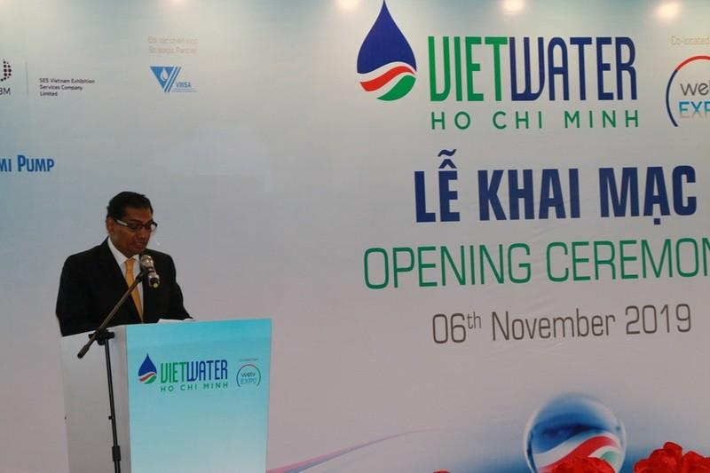Ông Gandhi - Tổng Giám đốc khu vực Đông Nam Á kiêm Phó chủ tịch Cao cấp Informa Markets Châu Á chia sẻ