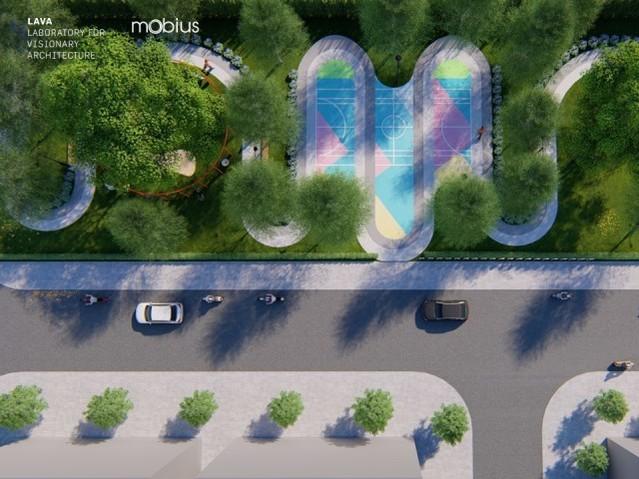 Tổng quan Công viên HPX thiết kế bởi công ty LAVA