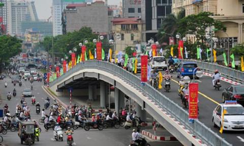 Tiếp tục đầu tư xây dựng 4 cầu vượt trên địa bàn Hà Nội
