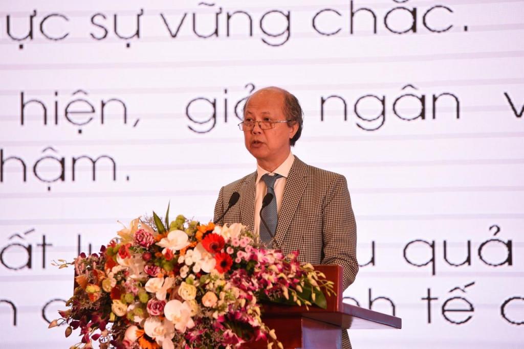 Ông Nguyễn Trần Nam, Chủ tịch Hiệp hội Bất động sản Việt Nam phát biểu tại Diễn đàn