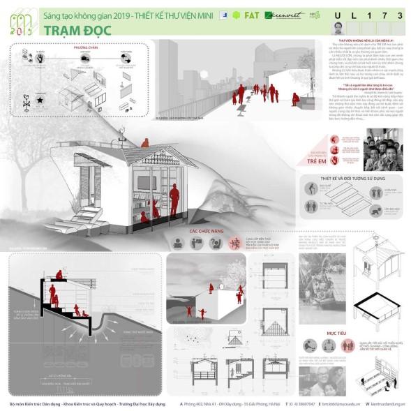 """Giải mở rộng UAI cuộc thi """"Thiết kế Thư viện Mini 2019: Linh hoạt – Thân thiện – Di động"""""""