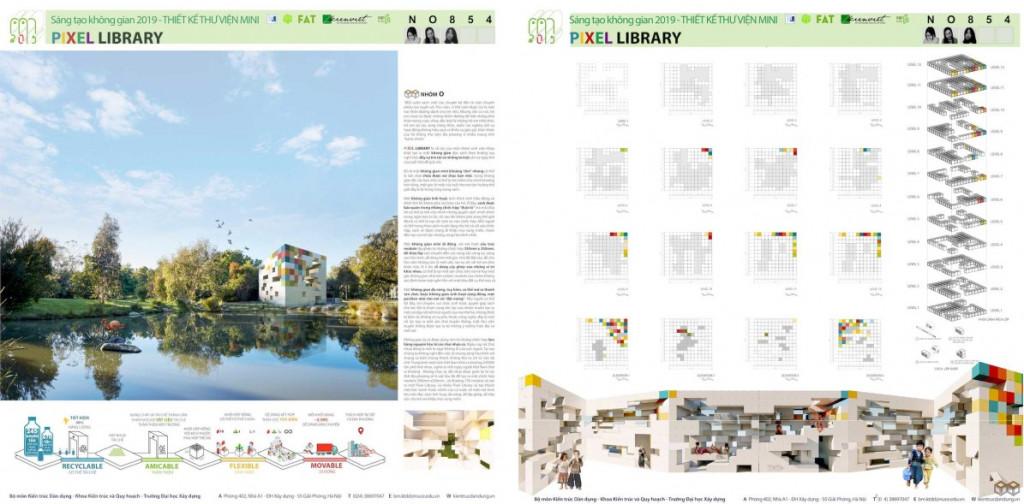 """Giải mở rộng TTAs cuộc thi """"Thiết kế Thư viện Mini 2019: Linh hoạt – Thân thiện – Di động"""""""