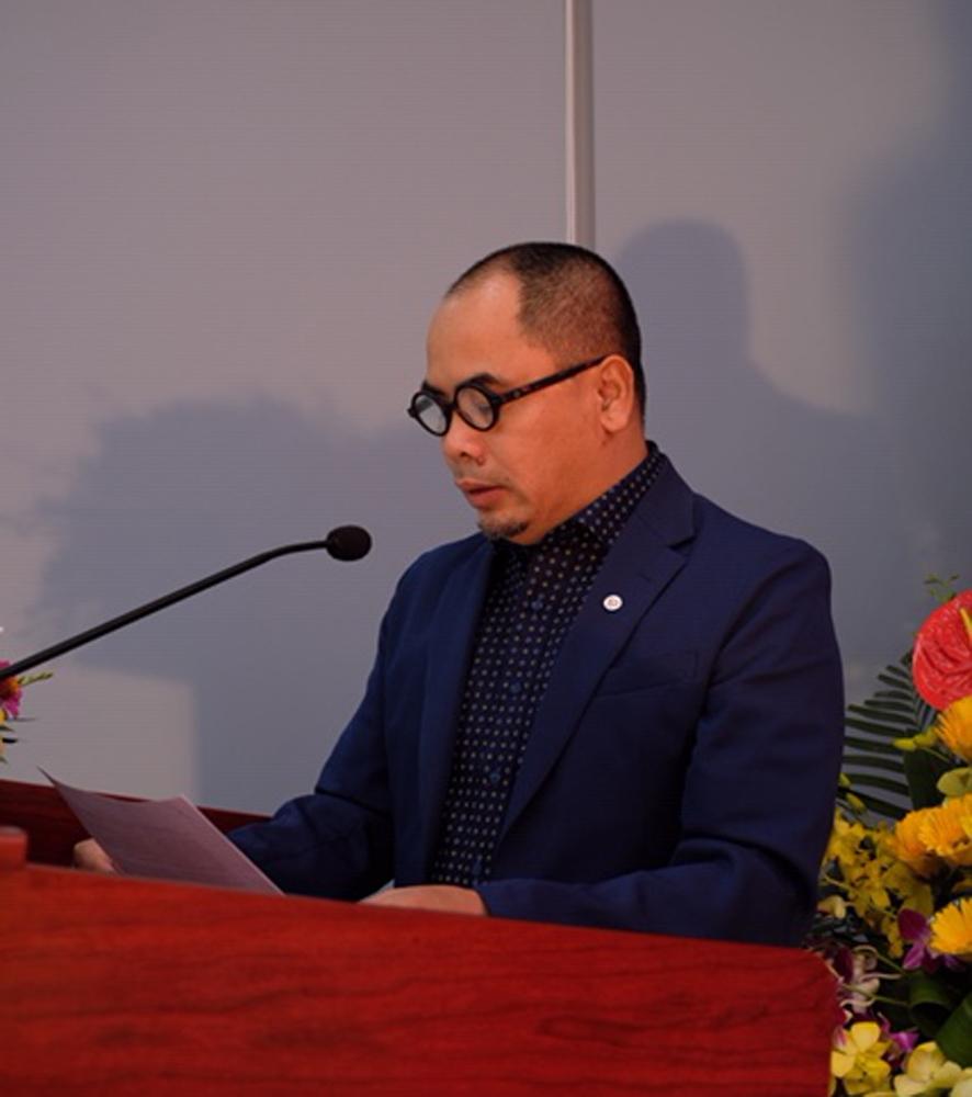 KTS Doãn Thế Trung – Trưởng Bộ môn – đọc diễn văn