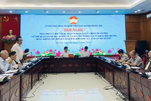 Sớm di dời các cơ sở công nghiệp gây ô nhiễm môi trường ra khỏi nội thành Hà Nội