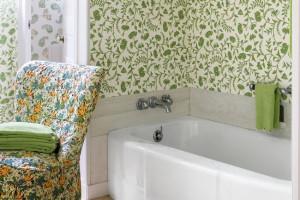 14 ý tưởng trang trí tường phòng tắm truyền cảm hứng