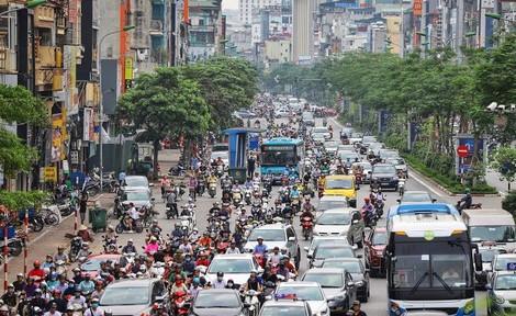 Ngẫm về giao thông đô thị Hà Nội xưa và nay