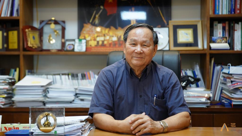 Chủ tịch Hội KTSVN Nguyễn Tấn Vạn