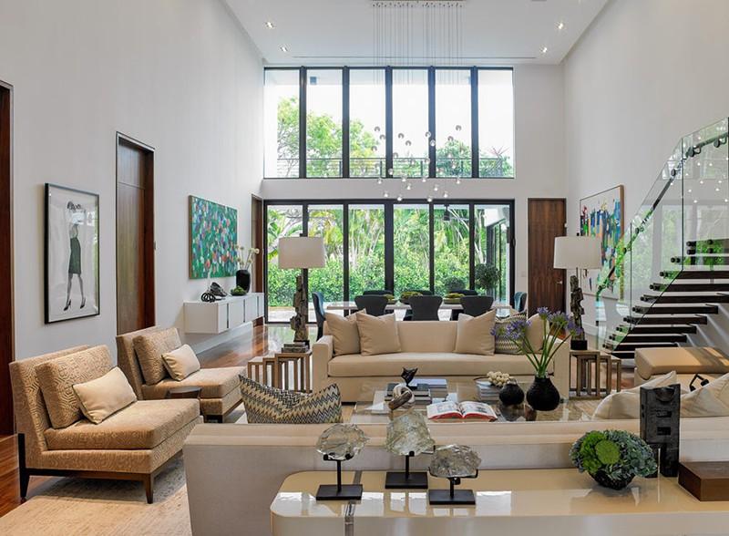 Thiết kế trần cao đang ngày càng được nhiều gia đình lựa chọn cho không gian sống của mình