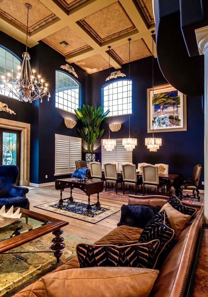 Đặc biệt, kiểu thiết kế trần cao cũng có tác dụng làm tôn lên vẻ đẹp tráng lệ của không gian phòng khách