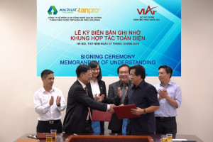 Công ty CP VLXD Công nghệ cao An Cường ký kết hợp tác toàn diện với Viện Kiến trúc Quốc gia