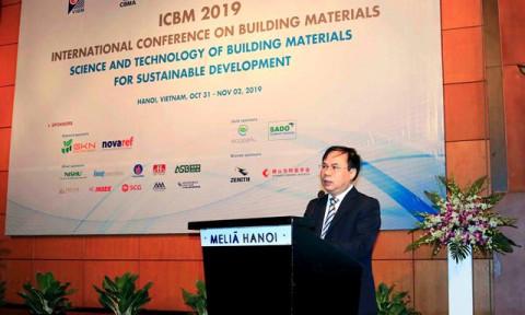 """Hội thảo Quốc tế """"Khoa học và công nghệ về vật liệu xây dựng cho phát triển bền vững"""""""