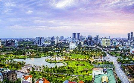 Hà Nội tiếp tục hướng tới sự đồng bộ về hạ tầng đô thị, hài hòa giữa bảo tồn, cải tạo và xây dựng mới. Ảnh: Vũ Long