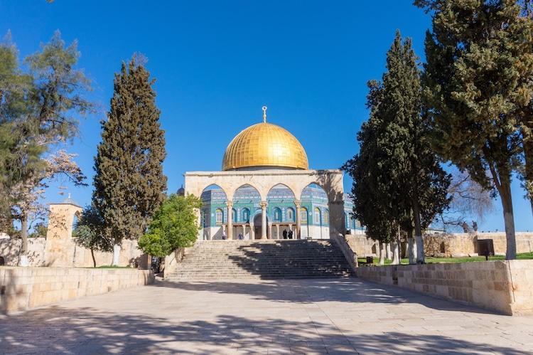 Mái vòm đá, núi Đền, Jerusalem, Israel