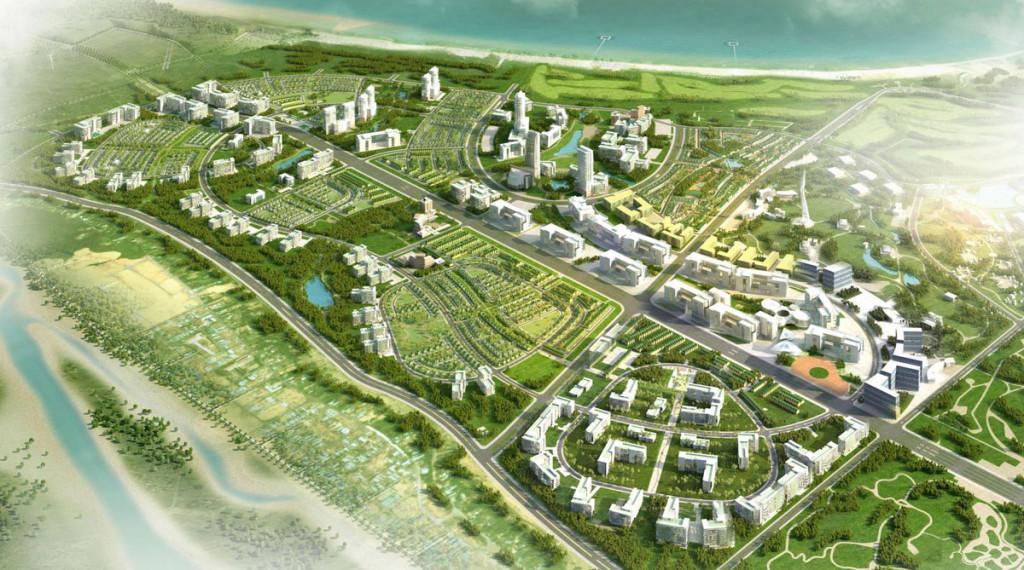 Nhơn Hội New City sở hữu vị trí đẹp với mặt tiền biển trải dài