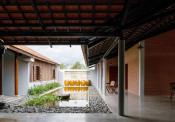 'Tam hợp viện' giữa khu vườn Tây Ninh