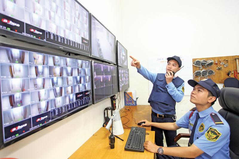 Giám sát hoạt động tại các khu vực công cộng của tòa nhà là công việc quan trọng đối với đơn vị được giao quản lý vận hành