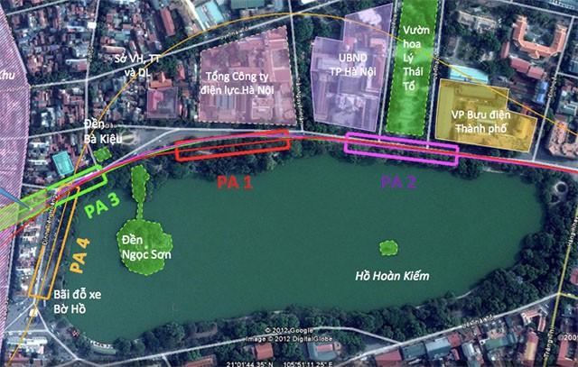 Vị trí đặt nhà ga C9 của tuyến đường sắt Nam Thăng Long - Trần Hưng Đạo nhận được nhiều ý kiến trái chiều thời gian qua