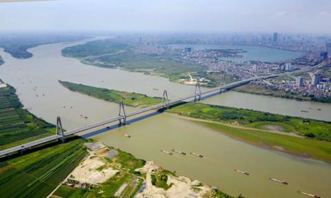 Hà Nội sẽ có đường rộng 40 – 60 mét ven bờ sông Hồng