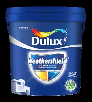 Thùng sơn Dulux Weathershield 15L mới