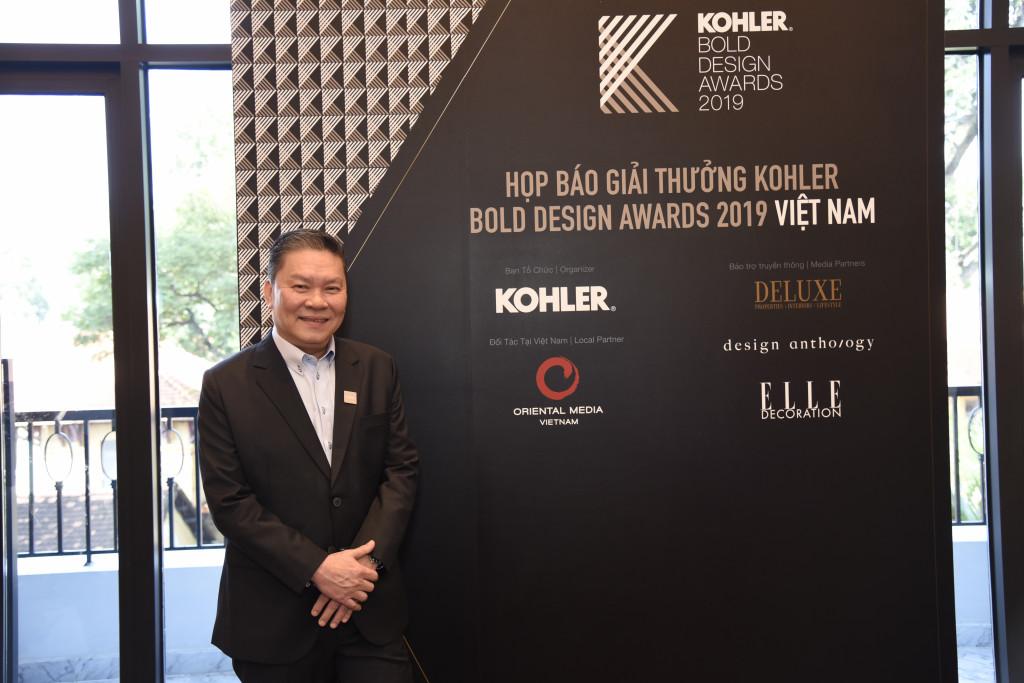 Ông Adam Quek, Tổng Giám Đốc & Giám Đốc Thương Mại của Kohler,  Ngành hàng Sản phẩm Phòng tắm và Bếp, khu vực Đông Nam Á