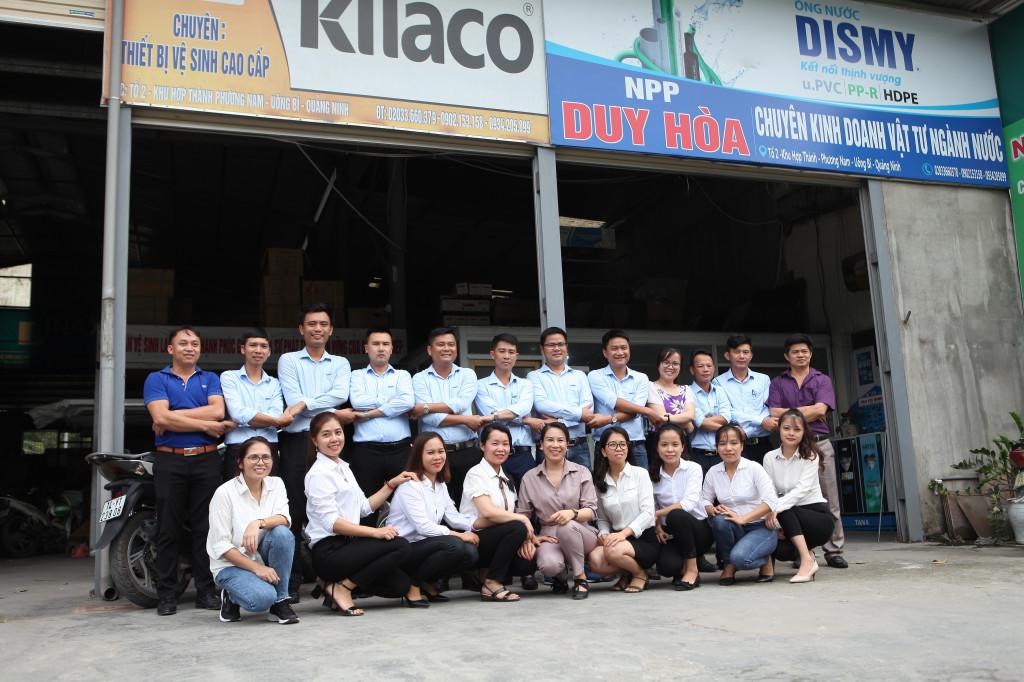 Xuống thăm và gặp gỡ các đại lý phân phối tỉnh Quảng Ninh
