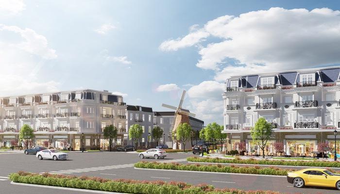 Kỳ Co Gateway còn có lợi thế trở thành trung tâm mua sắm mới tại phố biển Quy Nhơn, với dãy phố thương mại mặt tiền quốc lộ 19B dài hơn 1.000m