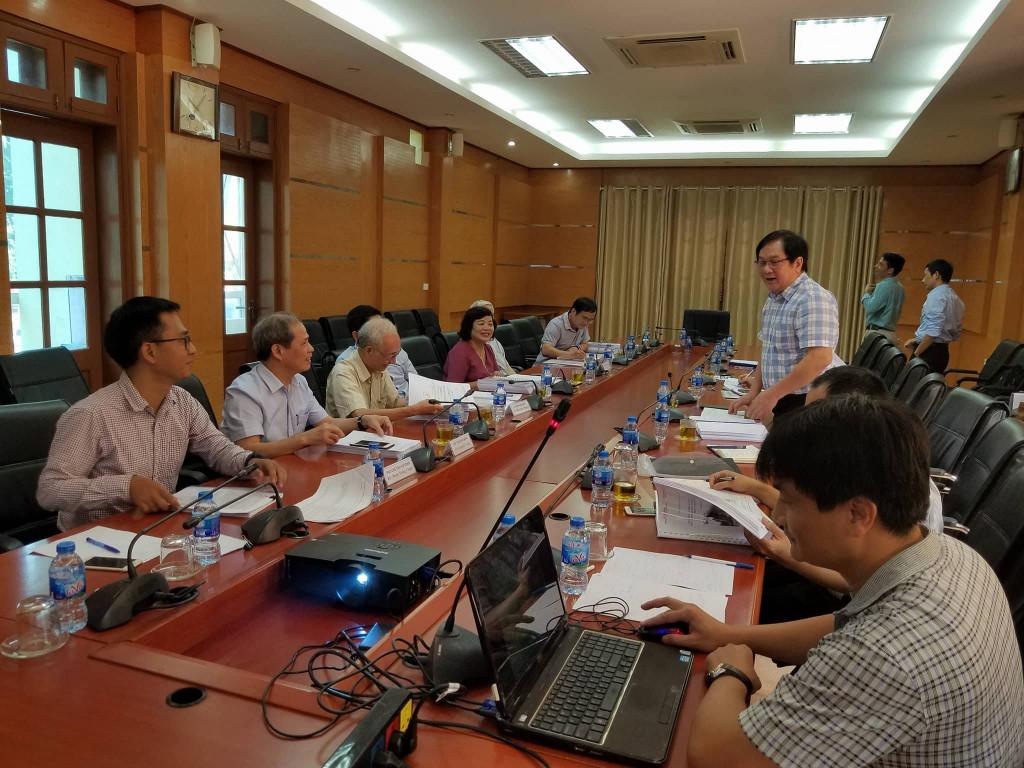 Lễ bảo vệ nghiệm thu đề tài cấp thành phố tại Hà Nội