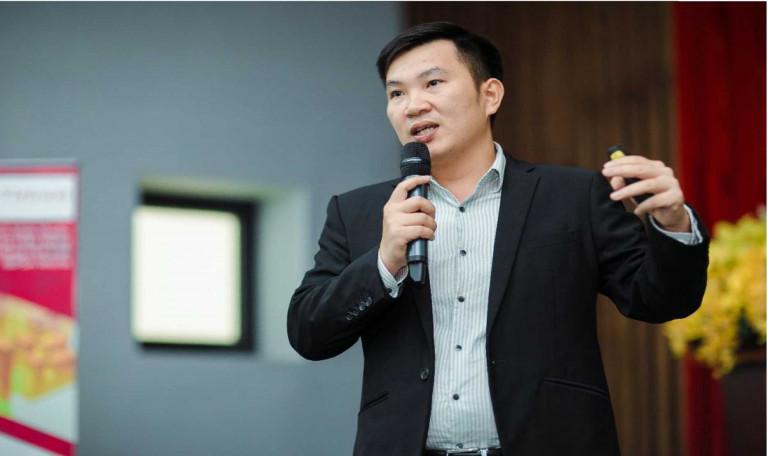 Ông Nguyễn Quang Phương – Trưởng ban phát triển dự án thuộc Tập đoàn Shine Oak International
