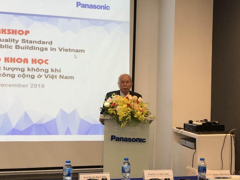 GS. TSKH Phạm Ngọc Đăng phát biểu khai mạc hội thảo