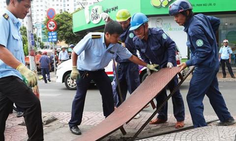 TP Hồ Chí Minh kiến nghị thành lập Đội Quản lý trật tự xây dựng đô thị