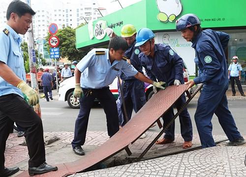 TP Hồ Chí Minh kiến nghị thành lập Đội Quản lý trật tự xây dựng đô thị, do quận, huyện quản lý. Ảnh: Internet