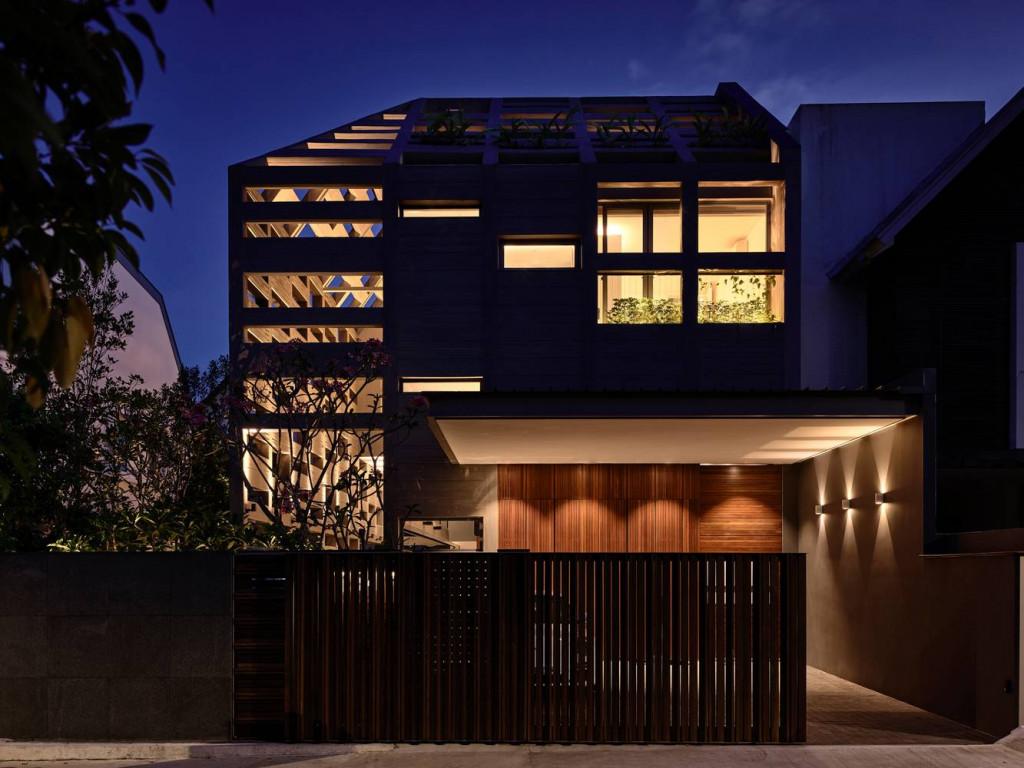 Concrete Ligh House - khi các khối bê tông bừng sáng