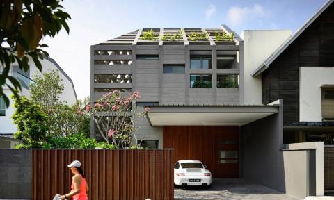 Khi những khối bê tông thô cứng tỏa sáng, đẹp theo một cách rất riêng trong Concrete Light House