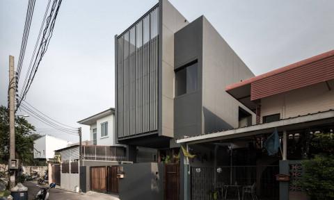 House 41 – Ngôi nhà ống ở Bangkok với diện mạo ấn tượng và giải pháp tận dụng ánh sáng tự nhiên hiệu quả