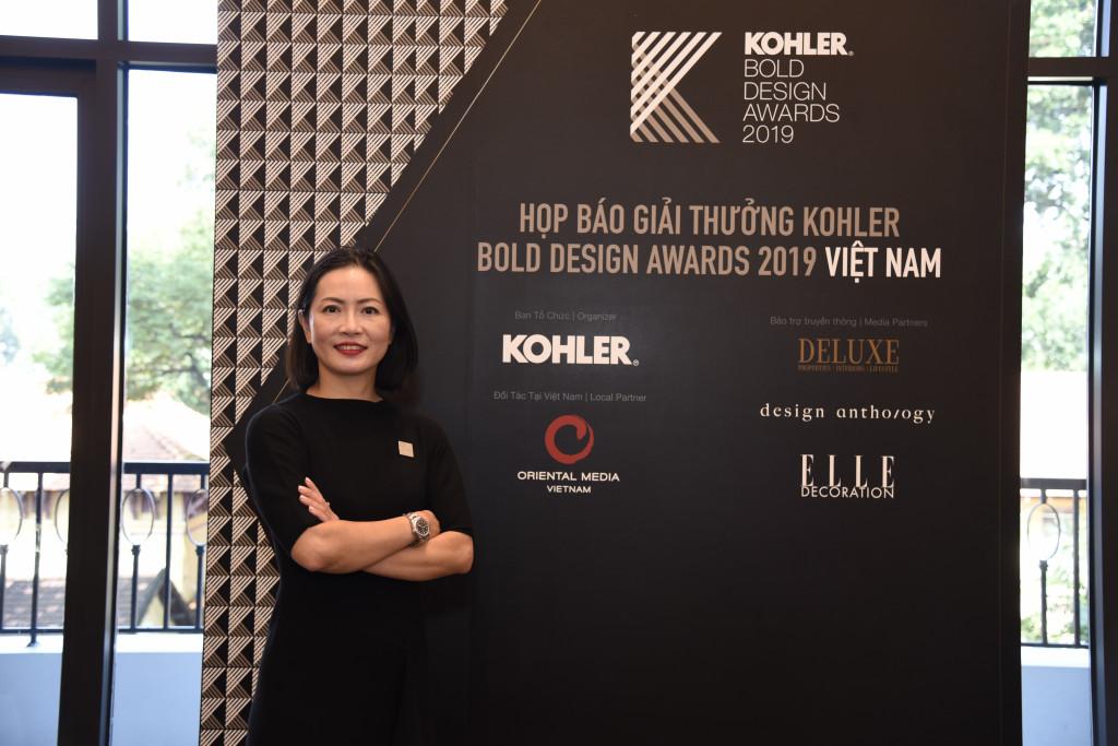 Bà Kesinee Charoenchitpaisarn, Giám Đốc Marketing của Kohler, Ngành hàng Sản phẩm Phòng tắm _ Bếp, khu vực Châu Á Thái Bình Dương (2)