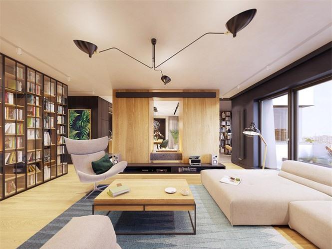 Không gian đọc sách cho cả gia đình.