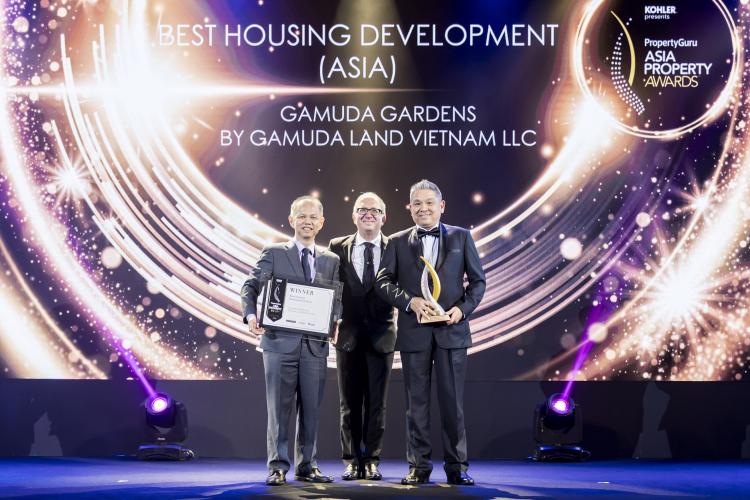 Gamuda Land Việt Nam được vinh danh Dự án nhà ở tốt nhất tại châu Á
