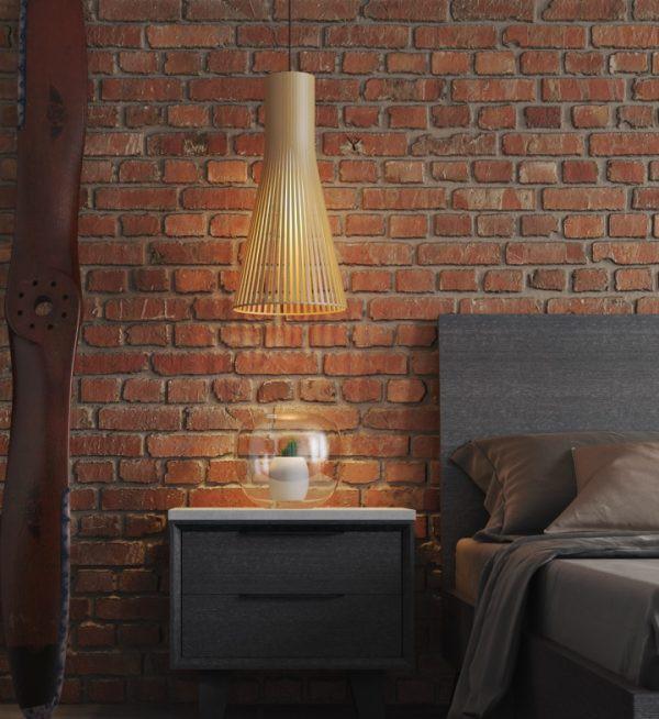 Chiếc đèn mặt dây chuyền sử dụng ánh sáng để kết nối mọi người lại với nhau