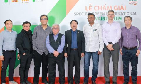 Lễ chấm giải Kiến Trúc Xanh Spec Go Green International Awards 2019