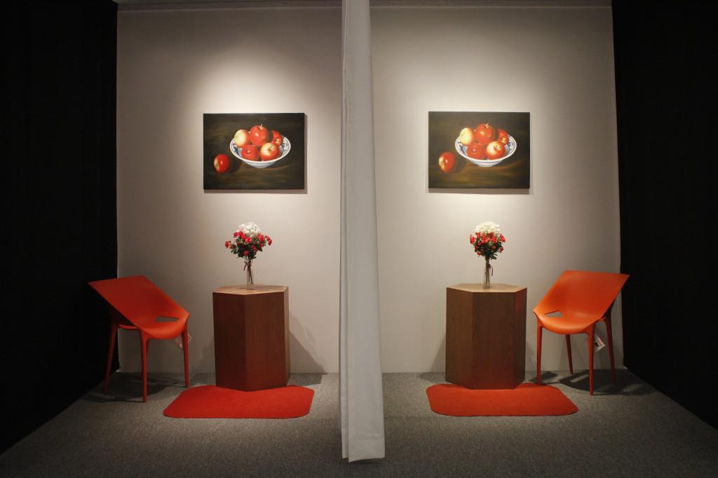 Các không gian trang trí trưng bày nghệ thuật trong nội thất