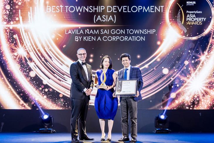 """Tập đoàn Kiến Á với giải thưởng """"Dự án khu đô thị tốt nhất"""" tại châu Á"""