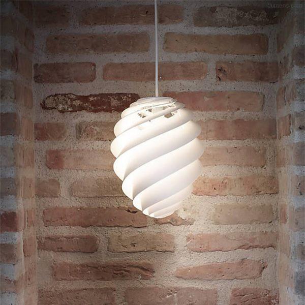Đèn chiếu sáng lấy ý tưởng từ chiếc vỏ ốc mang vẻ đẹp của biển