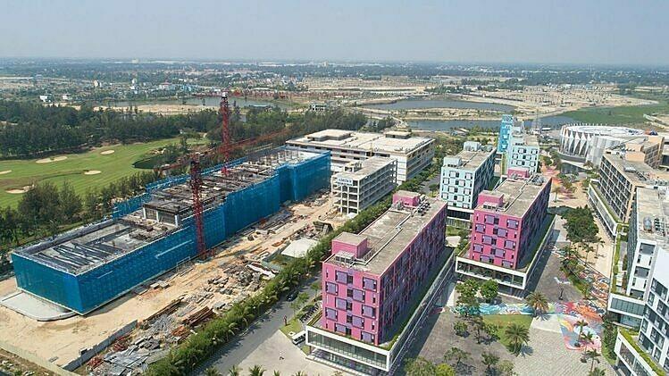 Dự án condotel tại Đà Nẵng. Ảnh: Empire Group