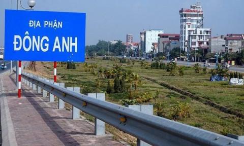 """Giá đất 4 huyện Hà Nội lên quận: """"Tăng quá nhanh sẽ là sốt ảo"""""""