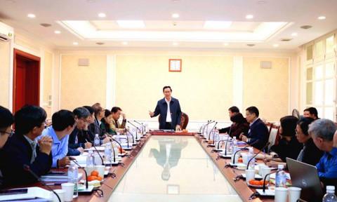 Thẩm định Đồ án Điều chỉnh Quy hoạch cấp nước Thủ đô Hà Nội đến năm 2030, tầm nhìn đến năm 2050