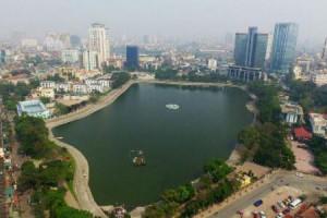 Lấp hồ Thành Công xây chung cư: Điều tiết nước thế nào?